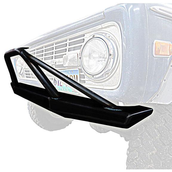 Impact Series Front Bumper, Flat Top w/Pre-Runner Bar