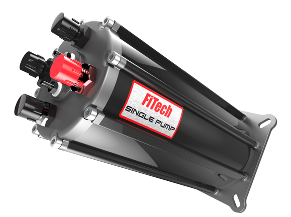 FiTech HyperFuel G-Surge Tank, Single Pump, Off-Road *CLOSEOUT