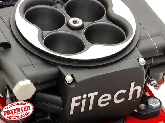 FiTech GoEFI 4, 600 HP EFI, Matte Black **$80 Mail-In Rebate thru 12/31/18