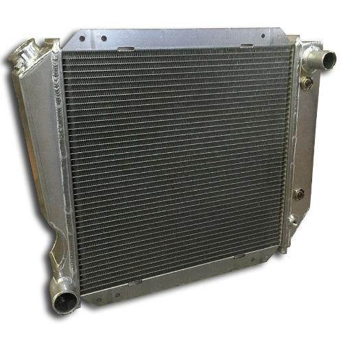 3-Core Aluminum Radiator, Reverse Outlets for New Motors, Slight Blem