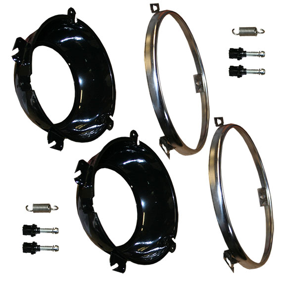 Headlight Mounting Kit, 66-77 Ford Bronco