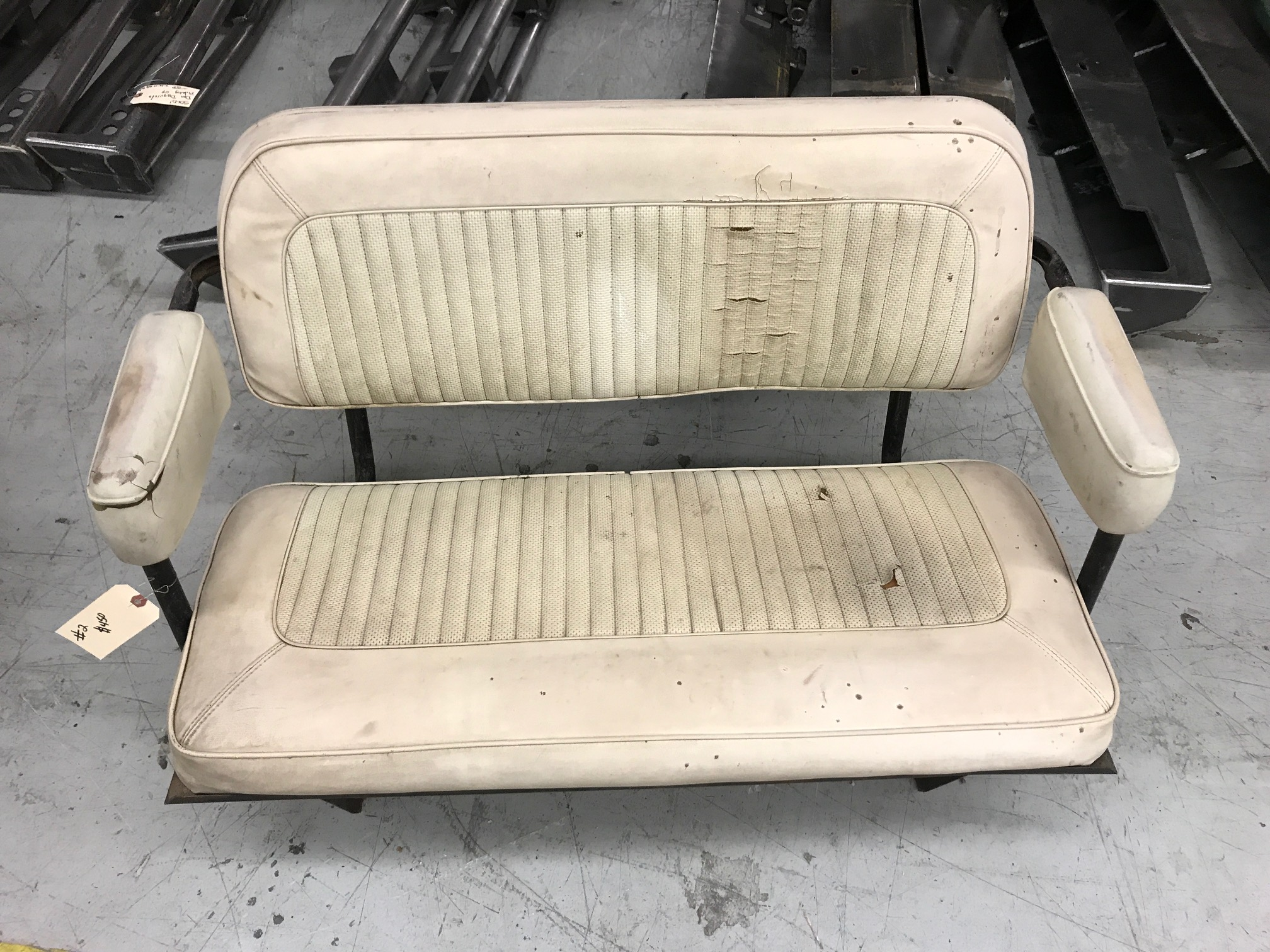 Rear Factory Bench Seat, Used, #2, 66-77 Ford Bronco
