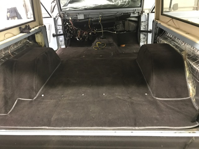 Premium Charcoal Full Carpet Kit 66 76 Ford Bronco Toms