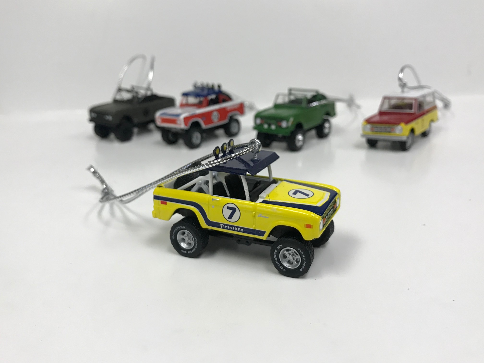 Christmas Ornament - 1972 Ford Bronco, All Terrain, 1:64 Die Cast
