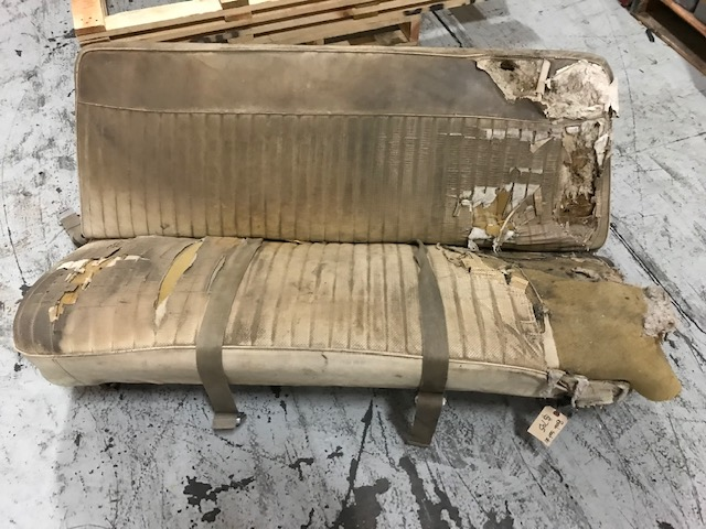 Factory OE Original Front Bench Seat, RARE, #1