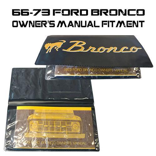 bronco script owners manual wallet   bronco toms