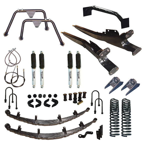 "3.5"" Long Travel Suspension Lift Kit System"