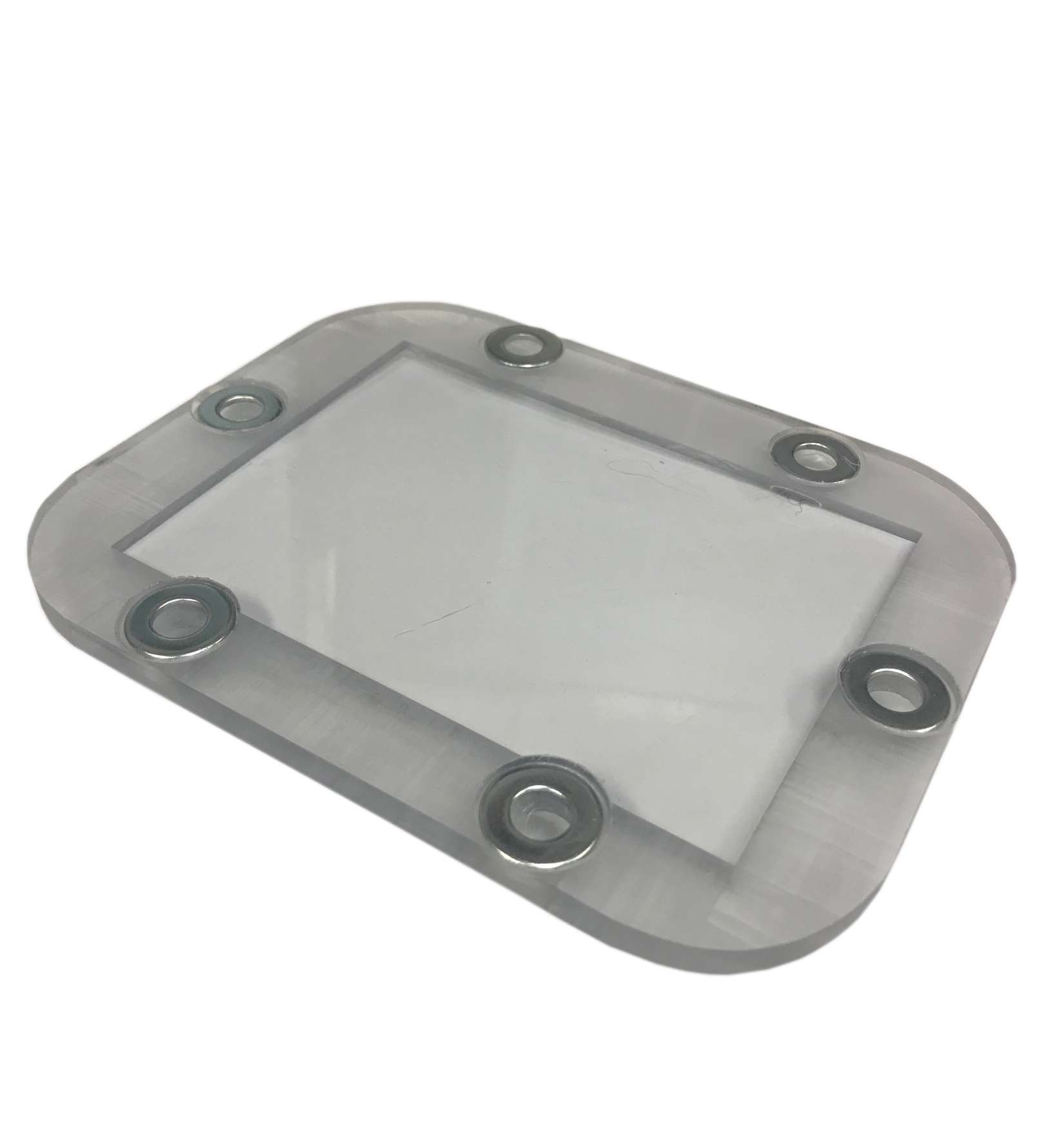 NP435 Clear Glass Inspection Cover, New