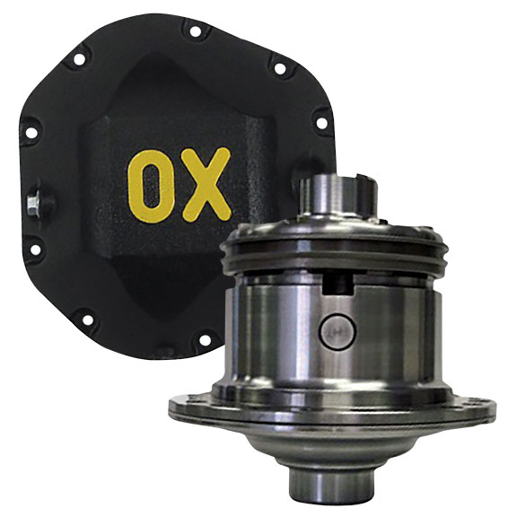 OX Locker - Dana 44 Front Differential, 3.92 & Up