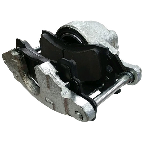 Front Brake Caliper w/ Pads for  Disc Conversions, Passenger Side, 66-75 Bronco