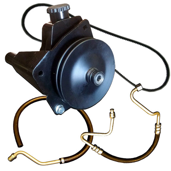 Deluxe Power Steering Pump Kit, 289/302