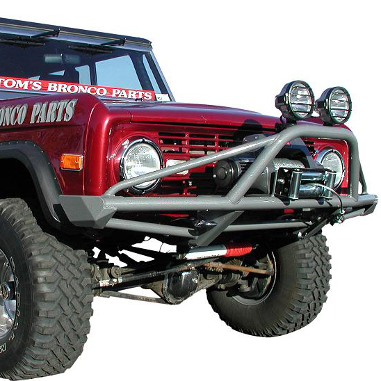 Front Pre-Runner Winch Bumper w/High Position Winch Mounting