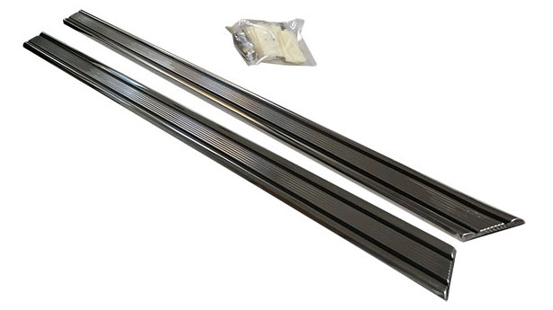 Rocker Panel Chrome Trim, Driver & Passenger, Pair