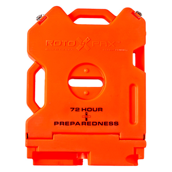 Rotopax Empty First Aid Container - 2 Gallon, Orange