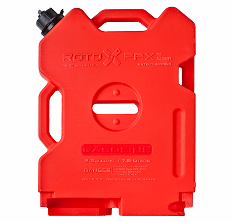 Rotopax Gasoline Container - 2 Gallon, Red