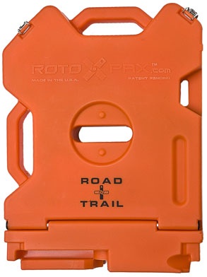 Rotopax Empty Road & Trail Container - 2 Gallon, Orange