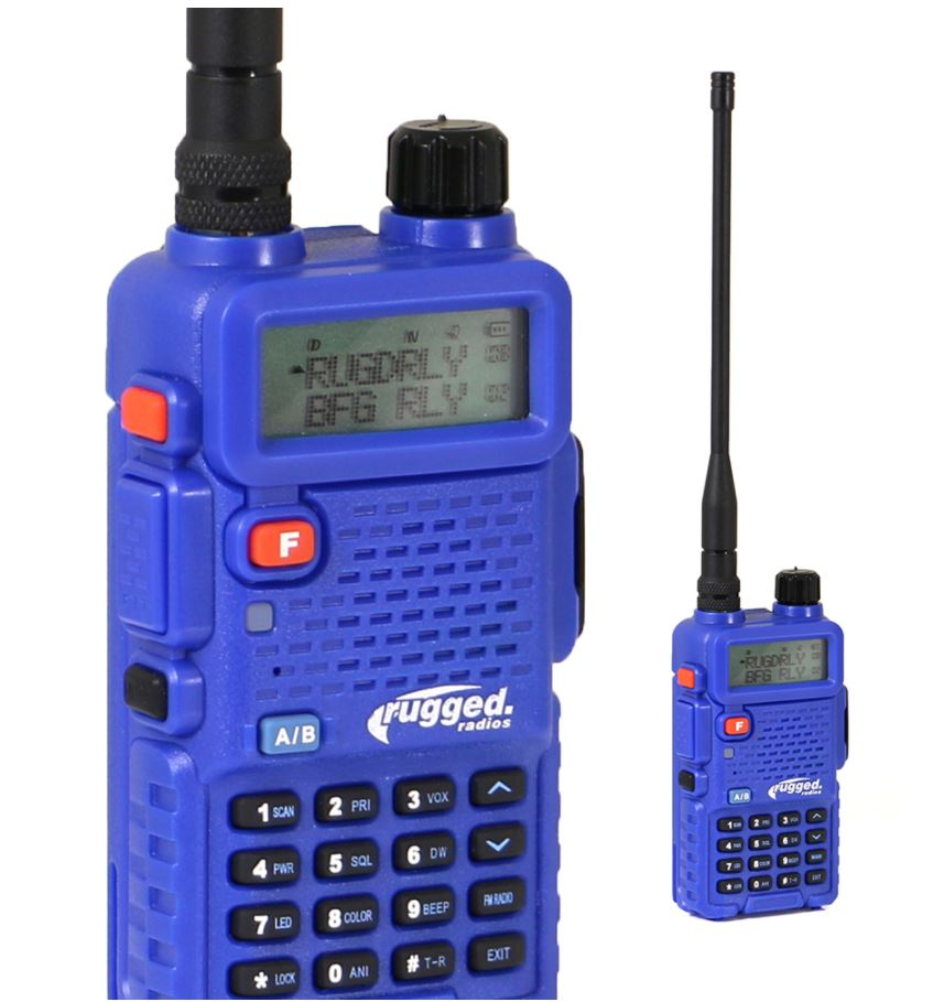 Rugged Radio - RH5R Handheld 5-Watt Dual Band VHF/UHF, each