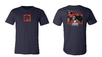 2021 TOMS OFFROAD Rock & Roll Official T-Shirt