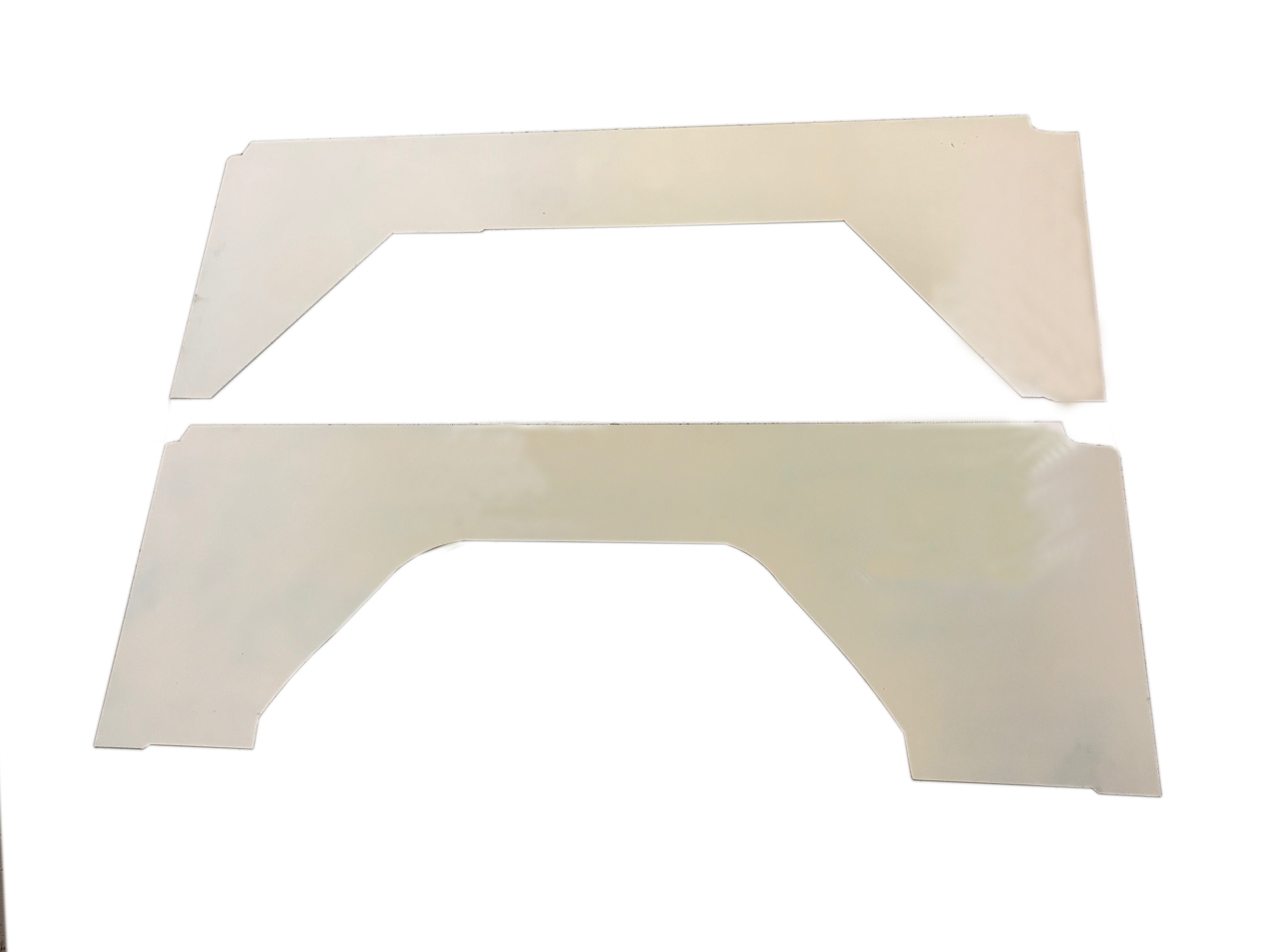 Quarter Panel Inserts, Bare Steel ,Pair, New 66-76