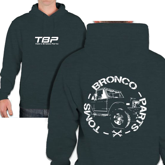 Toms Bronco Parts Hooded Sweatshirt - Adult and Kids Sizes!