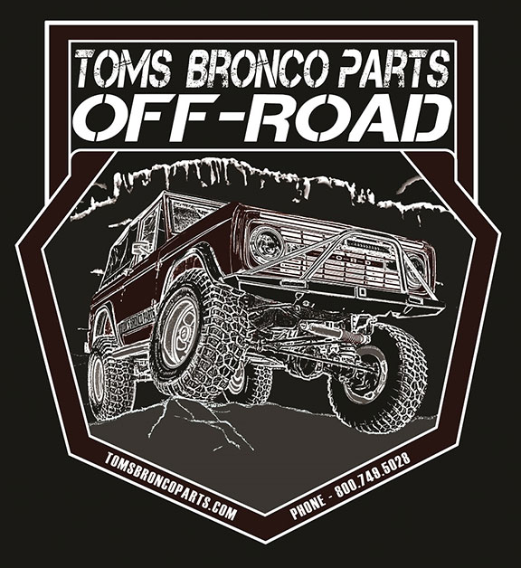 TBP Off-Road T-Shirt - Black Short Sleeve