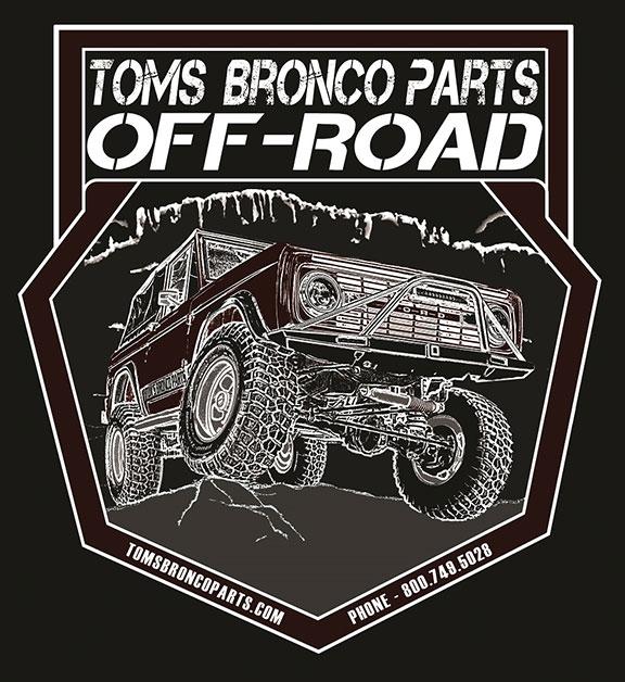 TBP Off-Road T-Shirt - Black Short Sleeve