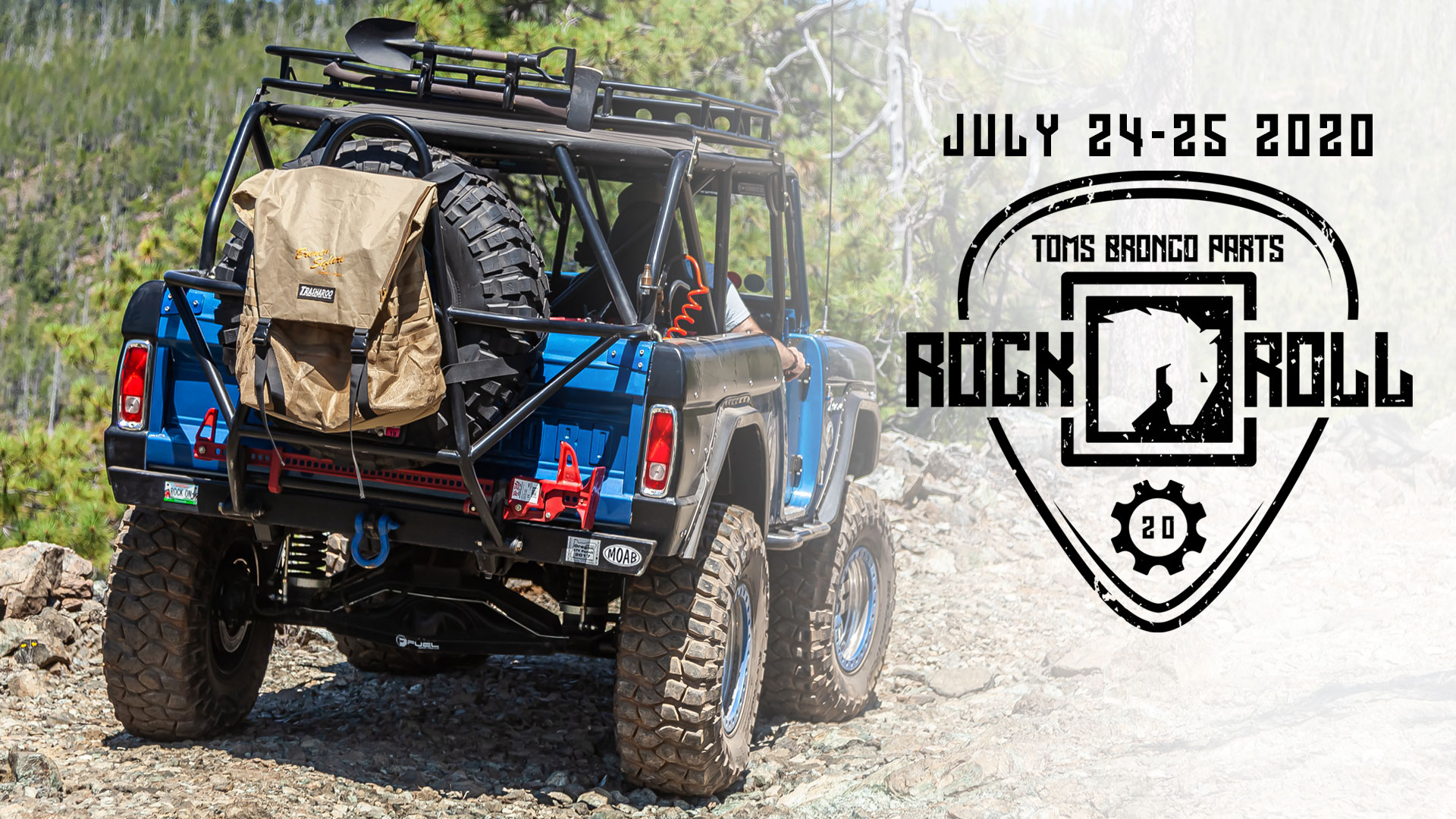 TBP Rock & Roll 2020 - Trail Run, Show & Shine, Wine Cruise July 24-25, 2020