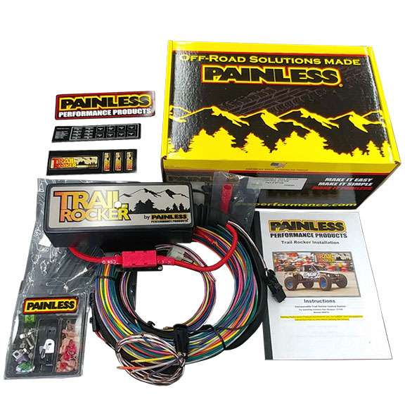 Trail Rocker Accessory Control System by Painless