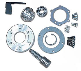 ZF 5 speed Adapter Kit, 4wd Transmision to Dana 20 Transfer case