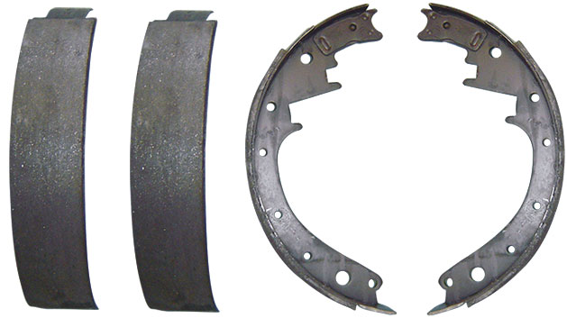 "Rear Brake Shoes - 10"" x 2.5"", 66-75 Ford Bronco"