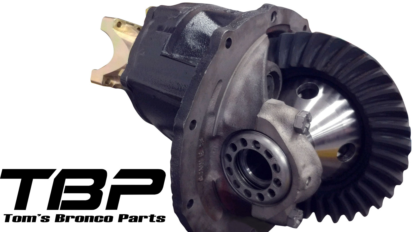 "Ford 9"" Drop-In Rear End w/Track Lock, Select Gear Ratio & Spline, Rebuilt"