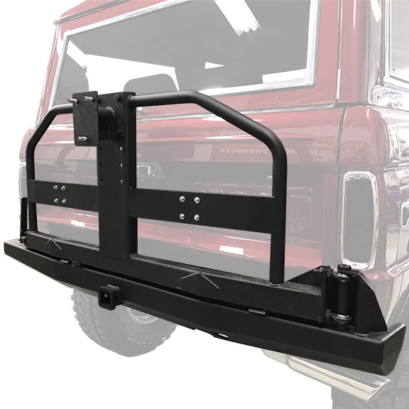 """Goliath"" Rear Impact Series Bumper w/Full Swing Away Tire"