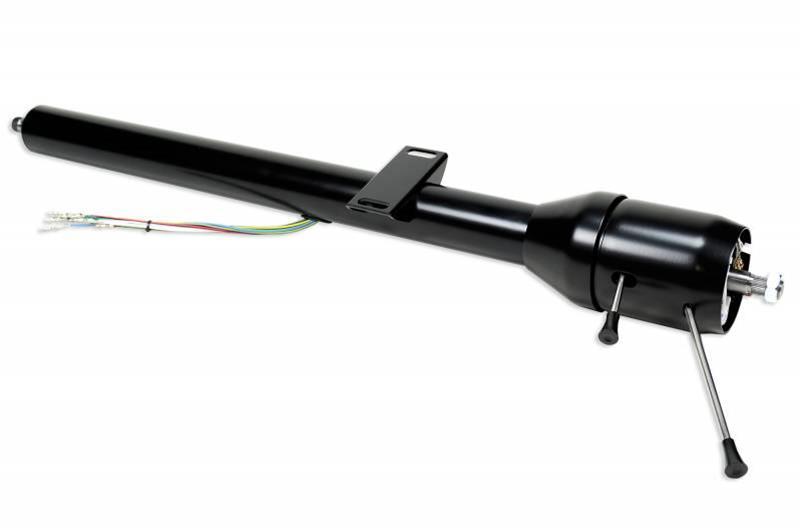 Image for product ididit-retrofit-tilt-floor-shift-steering-column-1974-1975-bronco-black