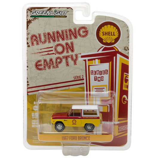 1967 Ford Bronco - Shell, Running on Empty Series 2, 1:64 Die Cast
