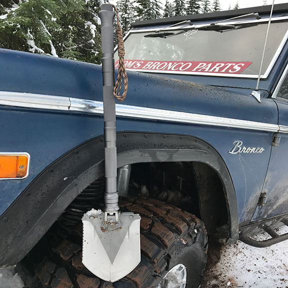 TBP Off-Road Survival Shovel
