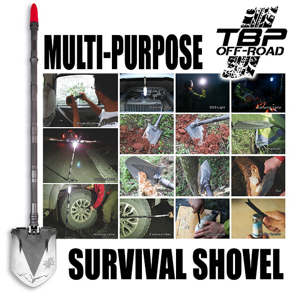 TBP Off-Road Survival Shovel