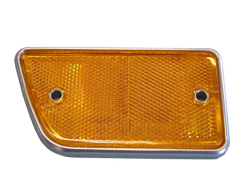 Side Marker - Front Amber, Passenger, 68-69 Ford Bronco