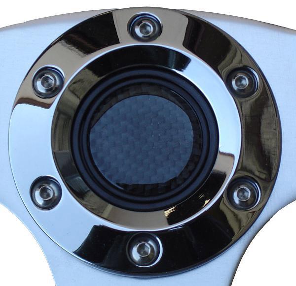 Custom Steering Wheel Carbon Fiber W Adapter 66 77 Ford