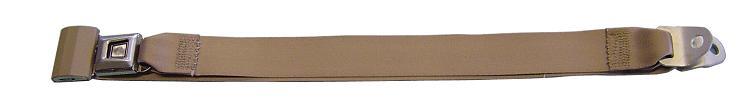 Seat Belts - Standard Lap Belt, Tan (each)