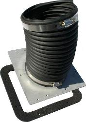 Heater Box Air Inlet Boot, Improved Design