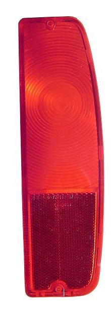 Passenger Tail Light Lens - 1966 Ford Bronco & 64-66 Ford Truck (each)