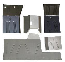 Floor Pan Set - 5 piece, Complete Front Kit