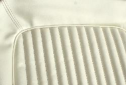 Seat Upholstery - Pearl White, Full Set, 68-77 Ford Bronco