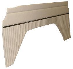 Quarter Panel Inserts - OEM-Style, Vinyl, 1977 Ford Bronco, Parchment