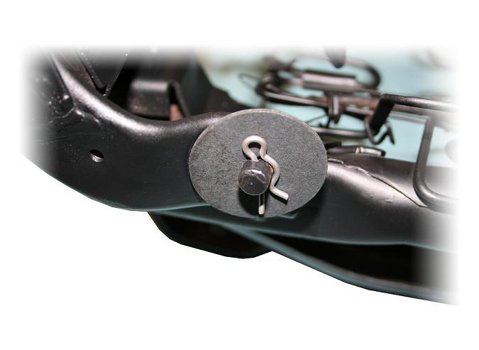Front Bucket Seat Hinge Lock Clips (Set of 4)