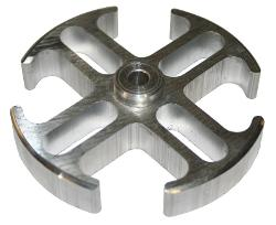 "Fan Spacer, 1/2"", Mill Finish"