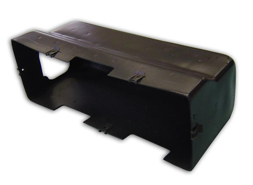 Glove Box Liner w/Fuse Hole - Heavy Duty Plastic