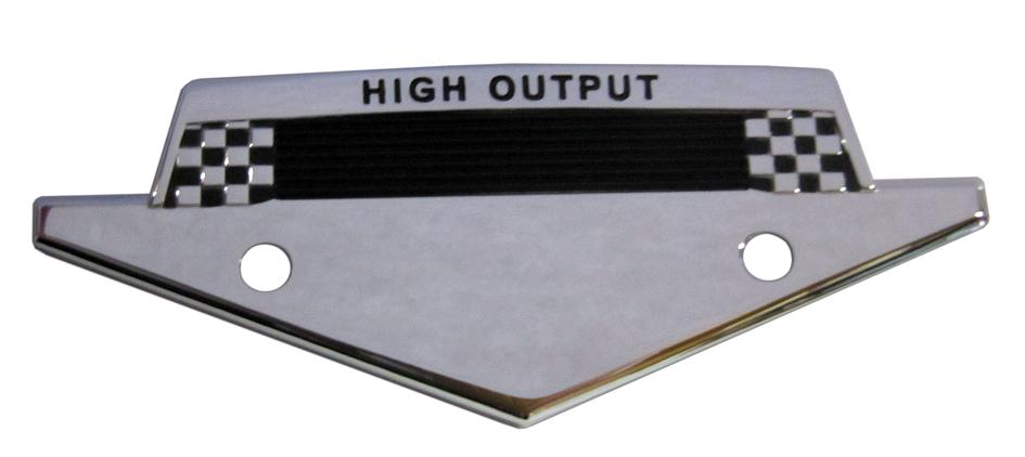 High Output Fender Emblem Badge