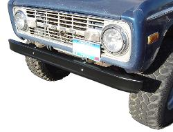 Stock Black Bumpers, OE Quality, Front & Rear