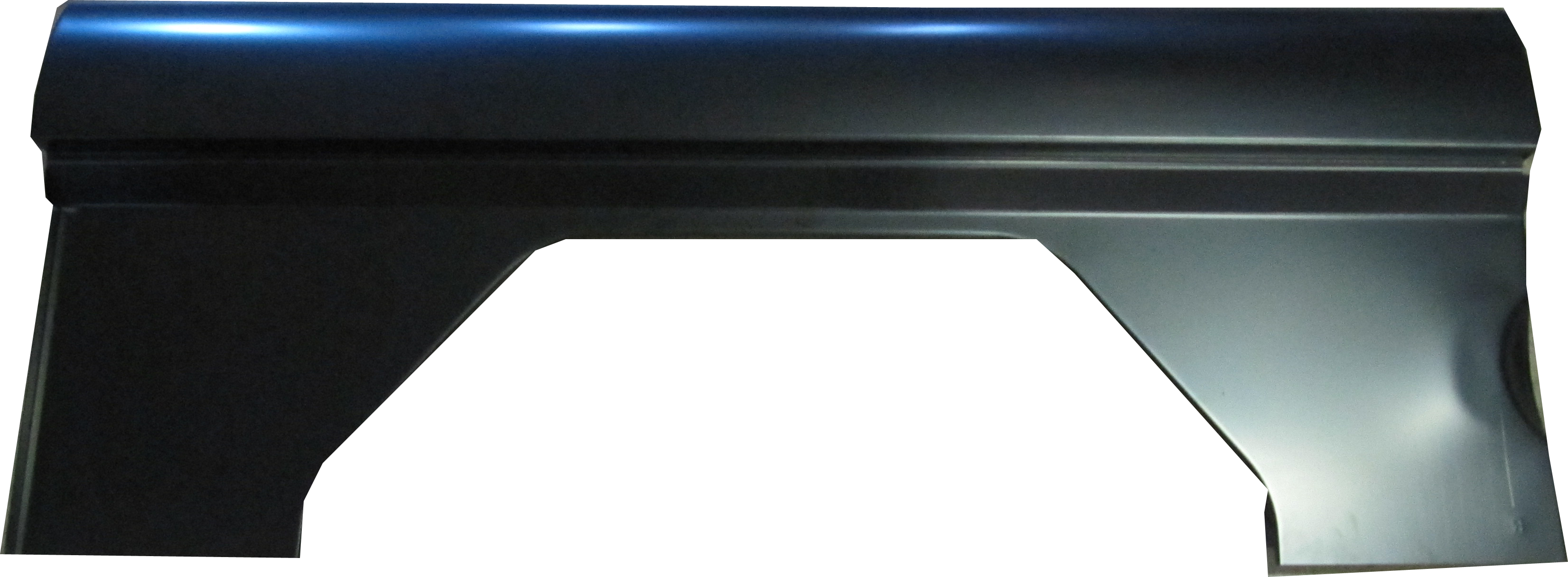 Upper & Inner Quarter Panel, Passenger Side